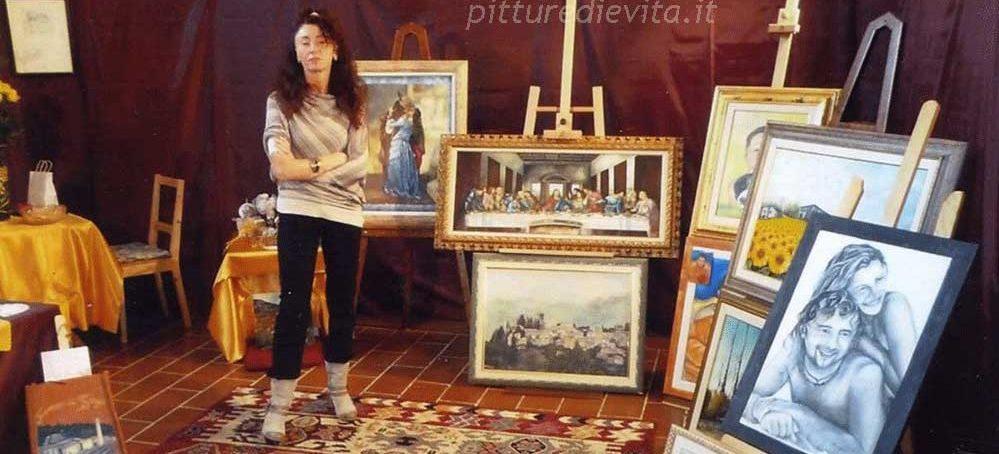 Le pitture di Evita